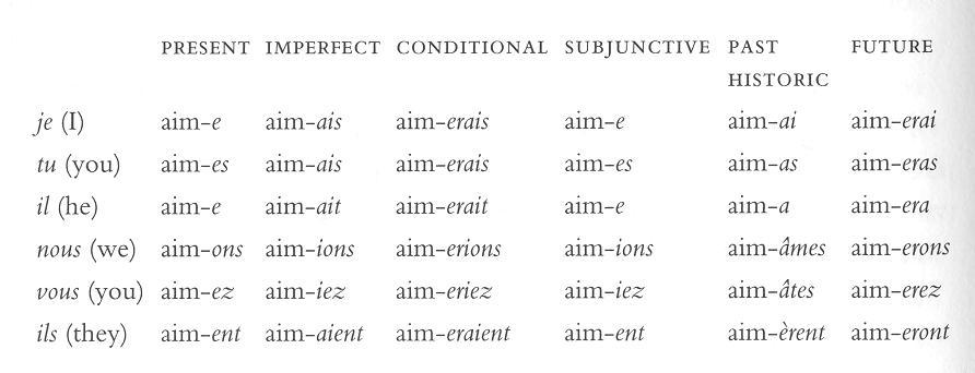 imponere latein konjugation